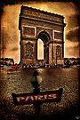Arc de Triomphe de l'Étoile by Chris Lord