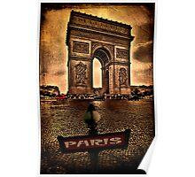 Arc de Triomphe de l'Étoile Poster