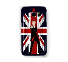 Union Jack British Flag with 12th Doctor Samsung Galaxy Case/Skin