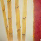 Abstract - Bamboos by Kasai