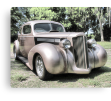 1939 Packard coupe Canvas Print