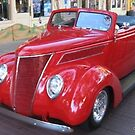 Classic Red Coupe by Debbie Robbins
