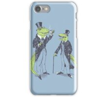 Tea Rex and Velo Sir Raptor iPhone Case/Skin
