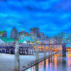 Louisville river front by DevereauxPrints