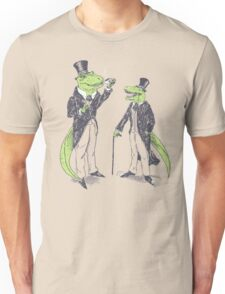 Tea Rex and Velo Sir Raptor Unisex T-Shirt
