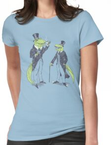 Tea Rex and Velo Sir Raptor Womens Fitted T-Shirt