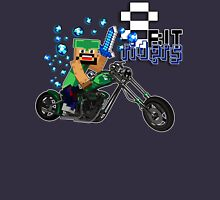 8Bit Riders Womens Fitted T-Shirt