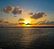 Sunset in Seadrift, Texas by LauraBroussard