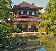 Ginkakuji Temple in Kyoto, Japan. by johnrf