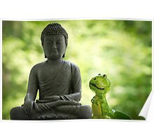Buddha and Buddy Poster