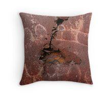 Metalloglyphs Throw Pillow