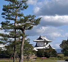Kanazawa Castle,  Japan. by johnrf