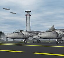 Harrier Base by Walter Colvin