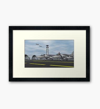 Harrier Base Framed Print