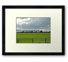 Prairie Afternoon Framed Print