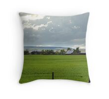 Prairie Afternoon Throw Pillow