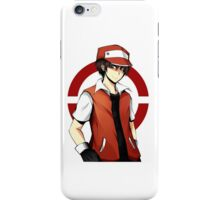 Pokemon - Kanto Pokemon Champion: Red iPhone Case/Skin