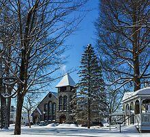 Winter in the Village by Kendall McKernon