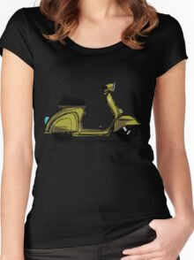 Scoot! Women's Fitted Scoop T-Shirt