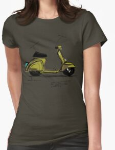 Scoot! Womens Fitted T-Shirt