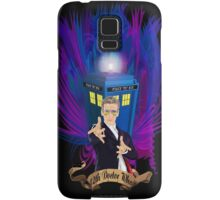 Time and Space Traveller with Rainbow Ray Ban Glasses Samsung Galaxy Case/Skin