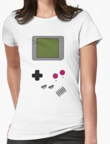 Gameboy, old but gold! Womens Fitted T-Shirt
