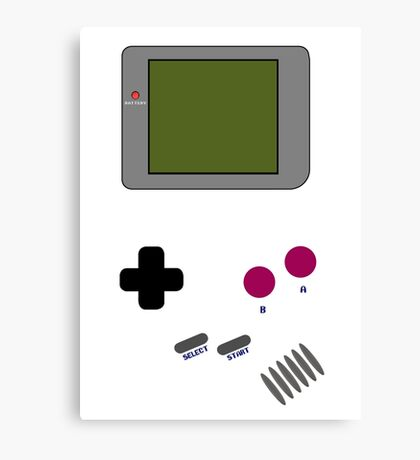 Gameboy, old but gold! Canvas Print