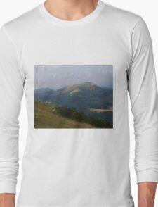 Malvern Hills at Dawn  Long Sleeve T-Shirt