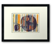 Dimensional Forest 3_d Framed Print