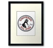 The Dude All Star Framed Print