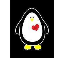 Lovable Penguin Photographic Print