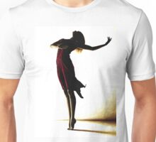 Poise in Silhouette Unisex T-Shirt