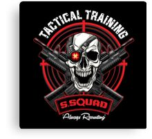 SS Tactical Training Canvas Print