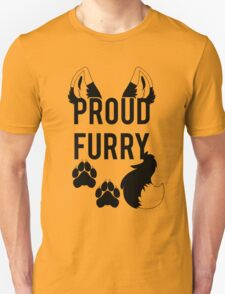 PROUD FURRY  -clear tips- T-Shirt