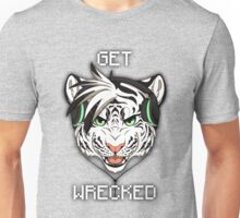 GET WRECKED - White Tiger Unisex T-Shirt