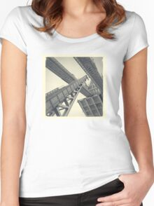 Tower Bridge 02D (19th Century) Women's Fitted Scoop T-Shirt