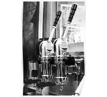 Manual Press Espresso Machine, Cafe Greco in Rome Poster