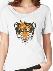 Headphone Tiger Women's Relaxed Fit T-Shirt