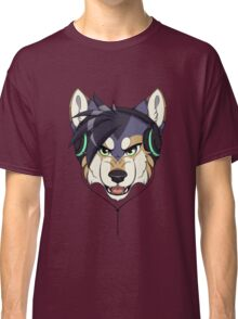 Headphone Wolf Classic T-Shirt