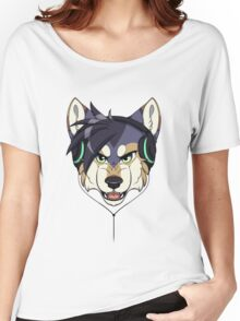 Headphone Wolf Women's Relaxed Fit T-Shirt