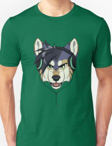 Headphone Wolf T-Shirt