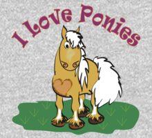 I love Ponies Kids Clothes