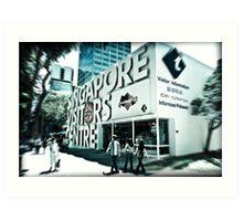 Singapore Visitor's Centre Art Print