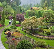Late Spring at the Butchart Gardens by Barb White