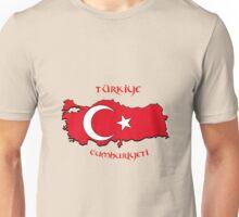 Zammuel's Country Series - Turkey (Türkiye Cumhuriyeti V2) Unisex T-Shirt