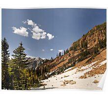 Red Pine Lake Trail Poster