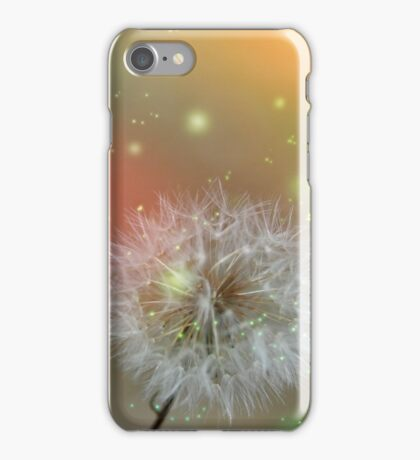 Dandelion filed iPhone Case/Skin