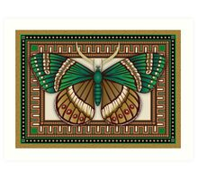 Emerald Butterfly Art Print