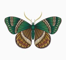 Emerald Butterfly Kids Clothes