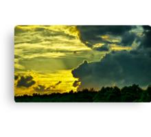 Sunset Cloud Animal Canvas Print